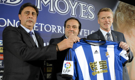 David Moyes starts Spain reign with draw