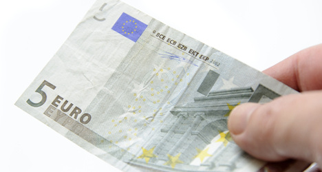 Man gets two years jail for €5 bank theft