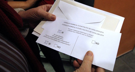 Catalonia votes: the strangest ballot papers