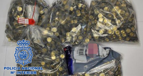 Police bust Spanish coin forgers