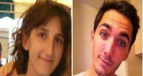 Police hunt for missing French students