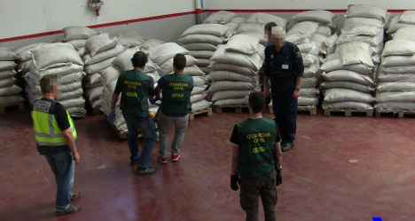 Spanish drugs cops bust 'Colombia-style' lab