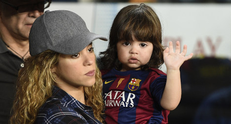 Shakira asks press to leave her son alone