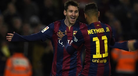 Messi scores third hat-trick in four games
