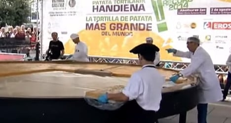World's biggest tortilla record up in air