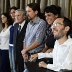 QUESTION: Who is the secretary general of Spain's Podemos Party?Photo: Gerard Julien/AFP