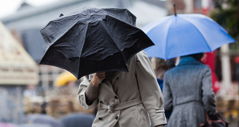 Spain set for wet and windy long weekend