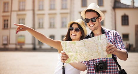Spain enjoys record tourism year in 2014