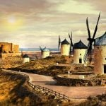 <b>For the bookworm:</b> 2015 sees the 400th anniversary of the publication of the second (and, for many people, superior) part of the Spanish classic Don Quixote by Miguel de Cervantes. To mark the occasion, why not follow in the footsteps of Don Quixote and Sancho Panza and embark on the Council of Europe's official Don Quixote route — an amazing 2000km (1,240 mile) trail that covers all the important sites mentioned in the novel. And whatever you do, don't forget to take in the famous windmills of Castille La Mancha. Photo: Shutterstock