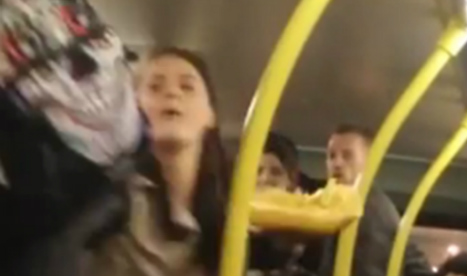 Racist rant at Spaniards on Manchester bus
