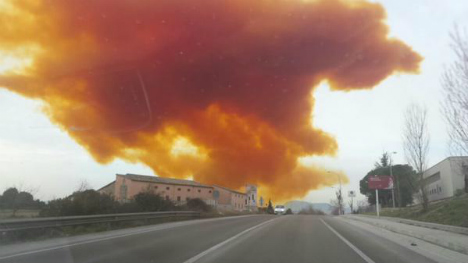 All clear given over Catalan toxic cloud