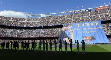 Barça honour Tito with training pitch memorial