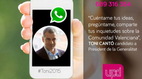 Spanish MPs turn to WhatsApp to win votes