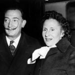 DALI AND GALA: Surrealist painter Salvador Dali met his future wife and muse in 1929. Gala, born Elena Ivanovna Diakonova, was a married Russian immigrant ten years his senior. By 1934 the pair were married and Dali would paint Gala, his muse, as she aged over the next five decades. The couple even had an opera written about their love story, Jo Dalí (I, Dali) by Catalan composer, Xavier Benguerel. Photo: AFP