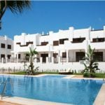 If you´re looking for an area where property prices are below the national average, the pretty coastal province of Almeria comes in at just 58 percent. For €134,000 you could buy this two bedroom bungalow with roof terrace by the sea. It is located on a new complex with several pools, a children's playground and sports facilities. Photo: Nardia/Kyero.com