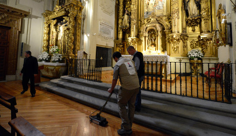 Experts may have found Cervantes' bones
