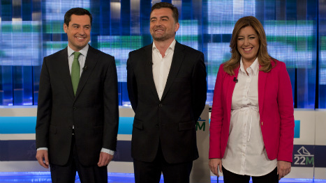 Andalusia warm-up sees parties jostle for power
