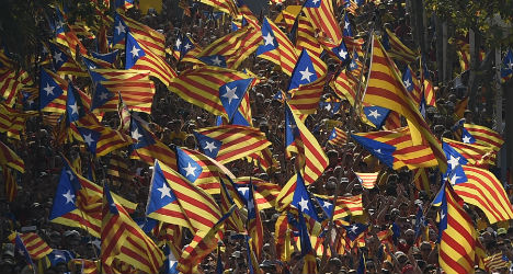 Rise in opposition to Catalan independence