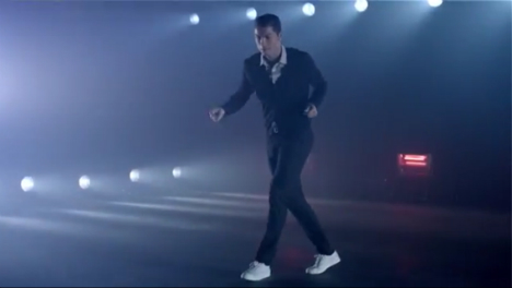 Cringe: Ronaldo does dad dancing in new ad