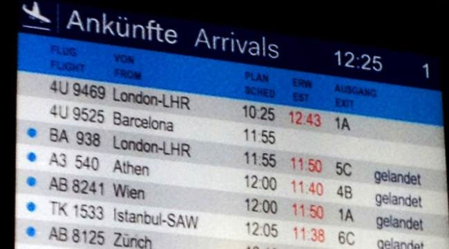 IN PICTURES: A timeline of Germanwings plane crash in the French Alps