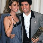 <b>Victoria Abril</b>: One of Almodóvar's earlier chicas, Abril has featured in three of his films, including Tie Me Up! Tie Me Down! with one of Almodóvar's favourite chicos, Antonio Banderas. Photo: Patrick Kovarik/AFP