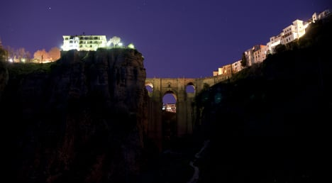 Spain flicks the switch for global Earth Hour