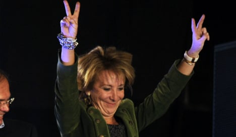 Spain's Iron Lady is back and she means business