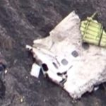 As more pictures of the debris began to emerge, France's Interior Minister announced that the black box had been found. Photo: AFP TV Screengrab