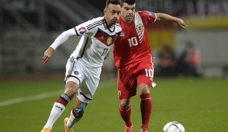 Scot to lead Gibraltar into clash with Scotland