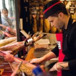 WORLD RECORD FOR MOST HAM SLICED IN AN HOUR: This record of course belongs to a Spaniard. Diego Hernandez Palacios cut 2,160 slices of ham in one hour, which is the equivalent of 10kg of jamon. He achieved the feat in Madrid on April 12th 2011, beating his own previous record  - he is one big ham lover. He trained for the record attempt for three months by going to the gym and cutting ham. Photo: Shutterstock
