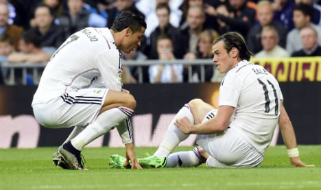 Real suffer double blow ahead of Atletico clash