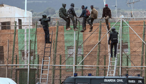 Spain illegal immigration jumps by two-thirds