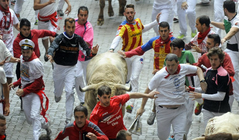 Pamplona sees red over 'Strictly Come Running'