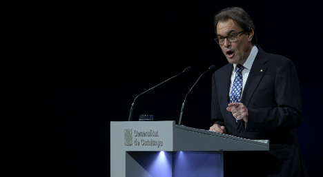 Catalan leader jumps on 'Yes we can' bandwagon