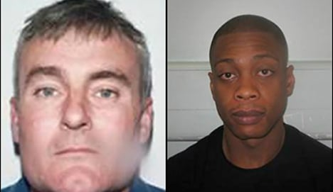 Two 'most wanted' Brits nabbed within 24 hrs