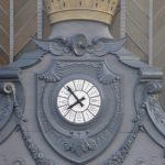 <b>Atocha station</b>: The Clock on the main façade of the capital's most important train station stands proudly in an iron setting with the Second Republic crenellated crown above. It may be overshadowed by the much larger and taller clock tower but it survived 36-years of dictatorship.Photo: CARLOS TEIXIDOR CADENAS /Wikimedia