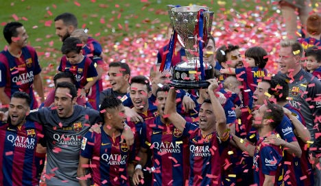 Barcelona one step closer to title hat-trick