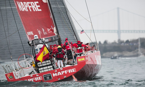 Spanish boat cruises to yachting victory