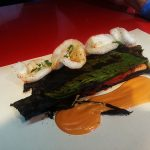 """<b>Diverxo.</b> Chef David Muñoz's Madrid restaurant Diverxo took seventh place for his Spanish-Asian fusion cuisine, described as being presented """"by painting them on a canvas at your table"""".Photo: <a href=""""http://bit.ly/1Ekdes6"""">Javi Vte Rejas</a> / Flickr Creative Commons."""