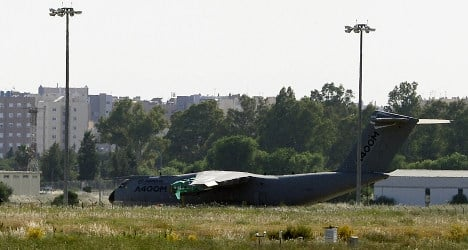 Black boxes of crashed military plane found