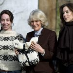 """<b>The Killing</b>: Series Two of the Scandinavian drama that shot surly detective Sarah Lund to worldwide fame saw the detective travel to Afghanistan  - which was actually filmed in Spain. Lund, true to form, continued wearing her thick Faroe Island jumper even in the heat of the """"desert"""". Photo: Keld Navntoft/AFP"""