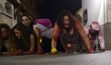 Spanish zombie games welcome the living dead
