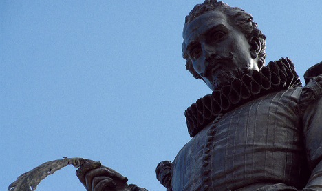 Cervantes given formal burial and a monument