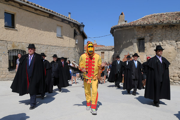 What the devil? Spain's bizarre baby jumping fiesta