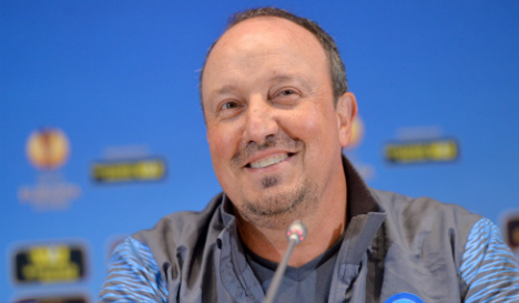 Benitez to be new coach hints Real Madrid chief