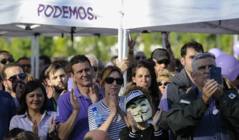 Spaniards welcome rise of nontraditional parties