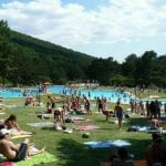 <b>Go swimming</b>: If you are not lucky enough to have a private pool don't worry as outdoor municipal pools can be found in towns and cities across Spain during the summer months. Even better for cooling off are natural pools like this one in Cercedilla, just north of Madrid. Photo: Tinnyaw/Flickr