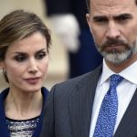 The King and Queen were visibly moved when, on an official trip to Paris on March 24th, they heard the news of the Germanwings flight 4U9525 crash, which killed 51 Spaniards. The crash would be one of the biggest tragedies during Felipe's first year as king.Photo: Martin Bureau/AFP