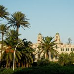 """<b>Plaza de España, Melilla.</b> Located in Spain's north African city enclave of Melilla, this circular plaza features the city's most impressive buildings such as city hall and the police station.Photo: <a href=""""http://bit.ly/1BWvqrX"""">Miguel González Novo</a> / Wikimedia Commons."""