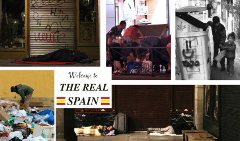 Postcards reveal bitter truth of the 'Real Spain'